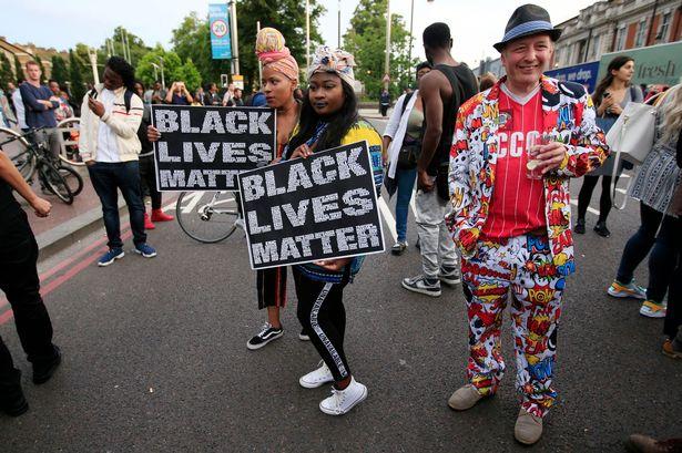 black lives matter comes to uk